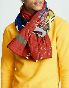Polo Ralph Lauren Ski92 Puffer Scarf Red
