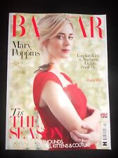 HARPER´S BAZAAR UK MAGAZINE 01 2019 JANUARY EMILY BLUNT MARY POPPINS NEU NEW