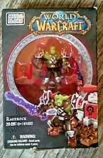MEGA BLOKS World of Warcraft WOW Set 91003 Ragerock Figure Horde Orc Warrior