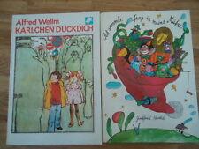 DDR Gedichte, Reime Ich sammle Spaß in meine Mütze/ Karlchen Duckdich Kinderbuch