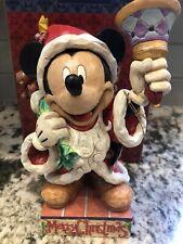 Jim Shore Old St. Mick 4005624 Disney Mickey Mouse Santa
