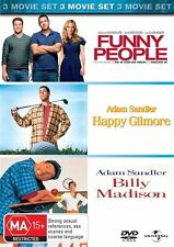 Funny People / Happy Gilmore / Billy Madison (DVD, 2010, 3-Disc Set)