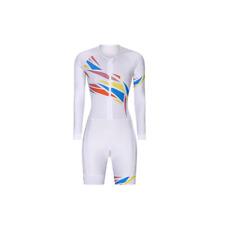New listing 2021 new women's triathlon jumpsuit cycling jersey Long Sleeve/Short Sleeve