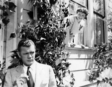 Joseph Cotten and Patricia Collinge UNSIGNED photo - D193 - Shadow of a Doubt