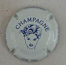 capsule champagne ARLETTE ( de le fée d' ) n°7a blanc et bleu