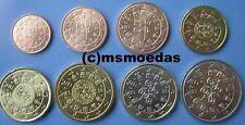 Portugal 8 Euro Münzen 2003 KMS mit 1 Cent bis 2 Euro Euromünzen coins moedas