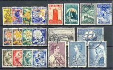 NEDERLAND  1932/1934  21  ST.  CW € 148   GEST.  PR EX  / LUXE