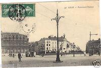 59 - cpa - LILLE - Monument Pasteur