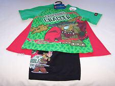 Lego Chima Boys Green Black Printed Pyjama Set Size 7 New + Cape *Sample*