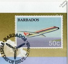 DOUGLAS DC9 / DC-9-30 Airliner Aircraft Stamp FDC (100 Years of Powered Flight)