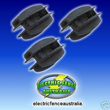 ELECTRIC FENCE PLASTIC ENDSTRAIN INSULATORS #16 (BAG25)