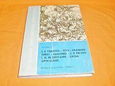 il nuovo testamento annotato  volume 4  lettere apocalisse  claudiana 1965
