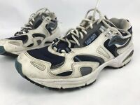 Saucony Running Shoes Mens Size 9.5 Style 14061-1  White Gray Blue