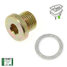 LAND ROVER OIL TRANSMISSION SUMP DRAIN PLUG & WASHER DISCOVERY 2 RANGE P38 OEM