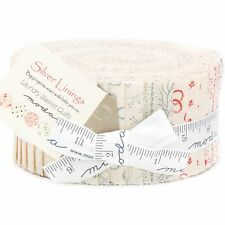 Silver Linings Jelly Roll by Laundry Basket Quilts for Moda Fabrics