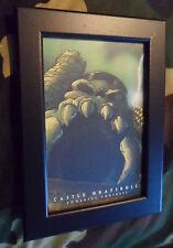 Vintage MOTU Castle Grayskull framed print post card 1983 He-man