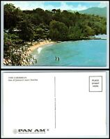 JAMAICA Postcard - One Of Jamaica's Many Beaches - PAN AM J44