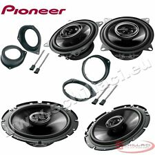 Car stereo front and rear 4 speakers kit for PIONEER Fiat Grande Punto 2006-2014