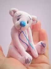 "Bruce teddy bear sewing pattern.  Soft toy 4"" mini bear pattern by pcbangles"