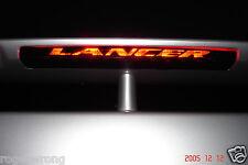 Mitsubishi Lancer Spoiler 3rd brake light decal overlay 04 05 06 07 Evo Ralliart