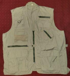 Vintage Outdoor Fishing Vest XXL