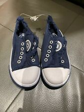 NWT Tcp The Childrens Place  Boy's Sneakers Size 13 Navy Tennis Camp Summer