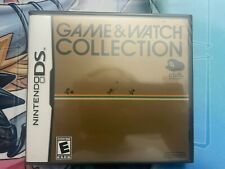 Game & Watch Collection 1 Nintendo DS 2DS 3DS DSi XL Club And N Fast Shipping