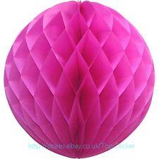 """6-12"""" Tissue Paper Pom Comb Ball Pretty Decoration Wedding Party Multicolored"""