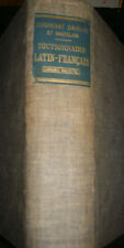 Dictionnaire Latin Français Quicherat Daveluy et Chatelain 56em édition