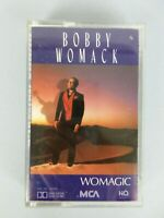 Vintage 1986 Bobby Womack Womagic Cassette Tape