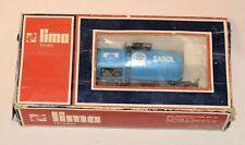 Rare Vintage Lima HO SAR/ SAS Sasol South African Railways Sasol Gas Tanker