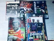 More details for all 51 barnsley programmes-1997/98. only premiership season. lge/cups/friendlies
