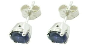 pleasing Iolite 925 Sterling Silver Blue genuine gemstones US gift