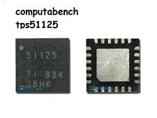TPS51125 -Dual-Synchronous, Step-Down Buck ic wide input => 2.5 to 5v output