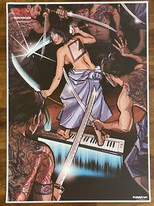 Elektron Original Poster - Monomachine Samurai - ULTRA RARE