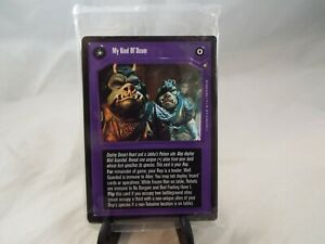 STAR WARS CCG JABBA'S PALACE OFFICIAL TOURNAMENT SEALED DECK, OTSD SET OF CARDS