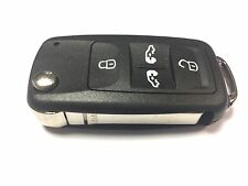 Replacement 4 button flip key case for VW Volkswagen Transporter remote key