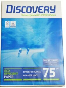 Discovery A3 Copier Paper 75 Gram 297mm x 420mm 5 Reams of 500 sheets each