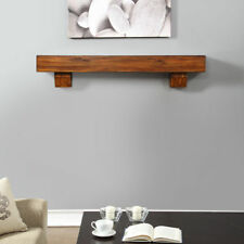 contemporary fireplace mantels stainless steel fireplace duluth forge 60inch fireplace shelf mantel with corbels brown finish contemporary mantels surrounds for sale ebay