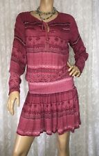 RUSTY SIZE 6 BOHO HIPPIE  DRESS