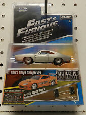 1968 DODGE BOYS CHARGER SILVER RT TOYOTA SUPRA BRIAN MOPAR FAST AND FURIOUS JADA