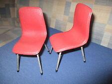 2 Schöne alte Stühle Puppenstube Puppenhaus