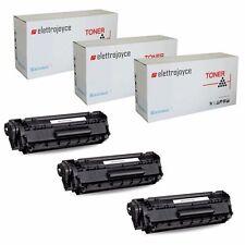 3 TONER PER CANON I-SENSYS MF3010 LBP6030 LBP6030W LBP6000 LBP6020B EP725 CE285A
