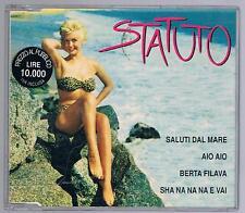 STATUTO SALUTI DAL MARE CD SINGOLO SINGLE cds