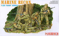 Dragon 1/35 3313 US Marine Force Recon (Vietnam War) (NAM Series) (4 Figures)