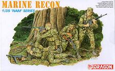 Dragon 1/35 3313 US Marine Force Recon (Vietnam War) (NAM Series) (4 Figures)