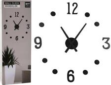 Battery Operated DIY MDF Wall Hanging Clock Decoration
