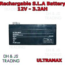 Ultra Max 12V 3.2AH Battery Alarm Security Response Solar Alarm & Bell