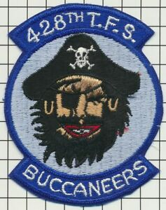 USAF PATCH - 428TH TACTICAL FIGHTER SQUADRON F-111A ERA [1970]
