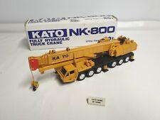 Shinsei 605 Kato NK-800 Fully Hydraulic Truck Crane 1/50